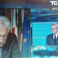 Mario Monti a Mentana: Non sapevo che avesse messo su una trasmissione di entertainment